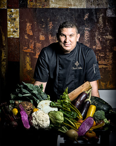 Portrait de Claude Pothin, Chef Executif du Palm Hotel & Spa
