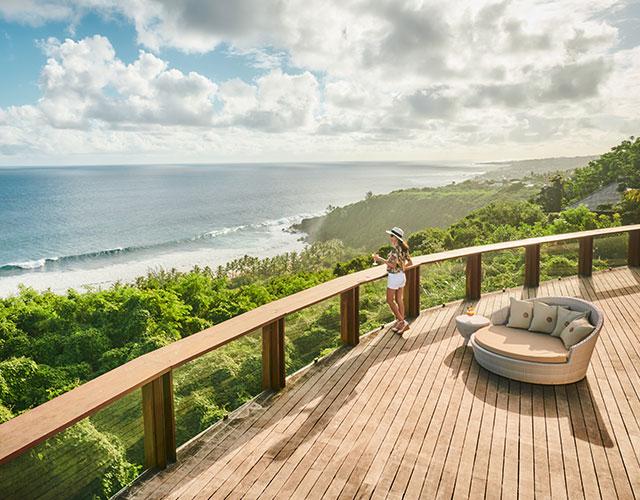 Panorama sur la baie de Grande Anse