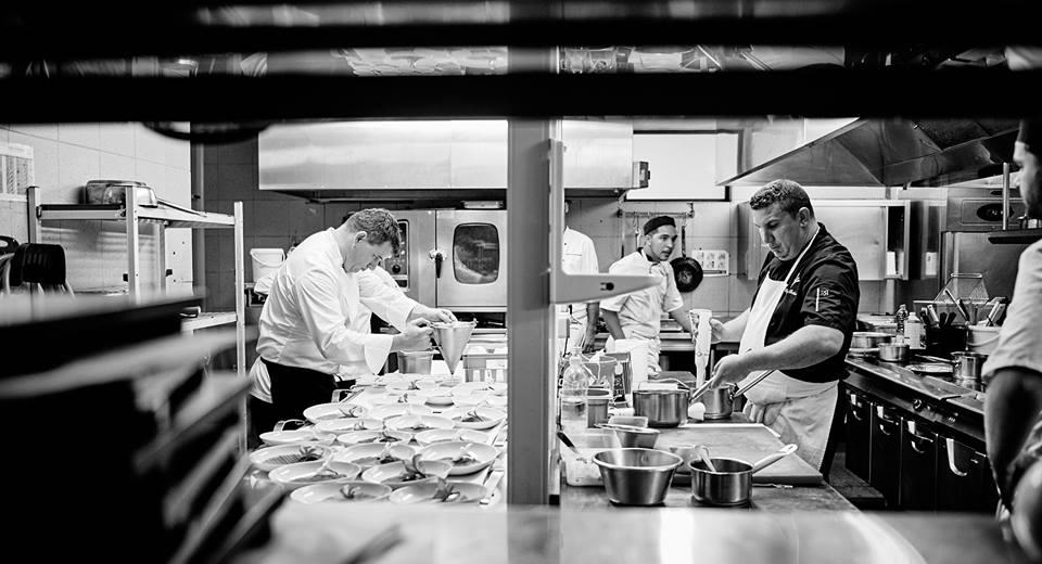 Le Chef et sa brigade de cuisine