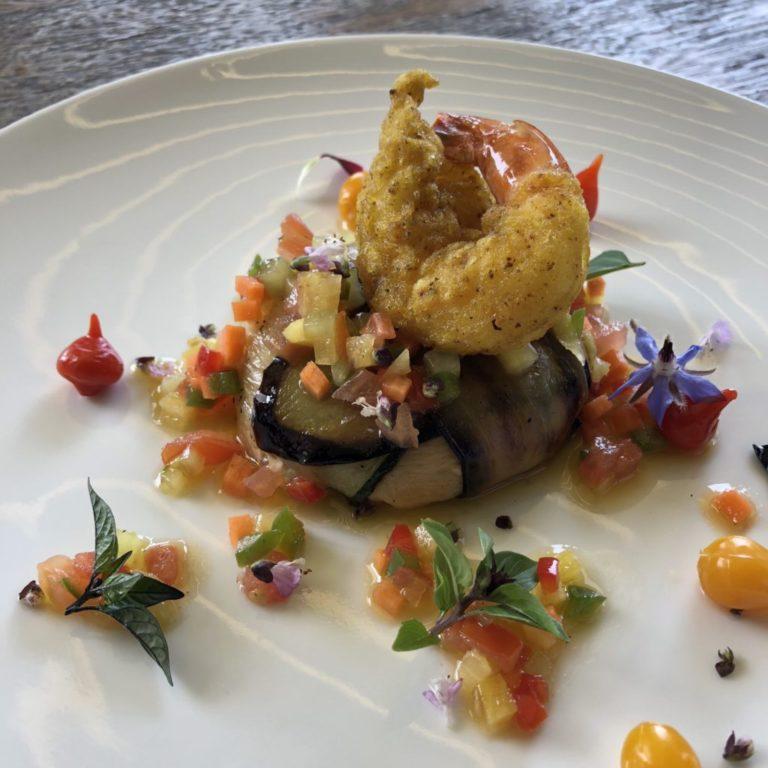 Rillette de thon tempura de crevette
