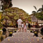 Famille en vacances au PALM Hotel & Spa
