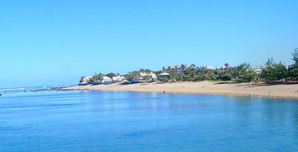 La plage de Saint-Pierre