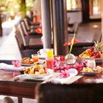 Petit déjeuenr au PALM Hotel & Spa