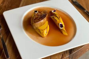 Recette de foie gras à la mangue